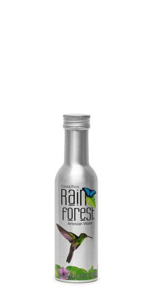 Rain Forest Water - Artesisches Wasser aus Costa Rica - still 0,25l Alu-Flasche