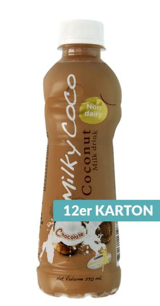 Milky Coco - Coconut Milk gemixt mit Schokolade - 0,27l (12er Karton)