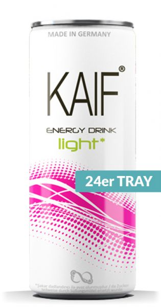 KAIF - Energy Light, 0,25l - Dose (24er Karton)