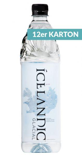 Icelandic Glacial Wasser, Island Premium Wasser, still - 1l (12er Karton)