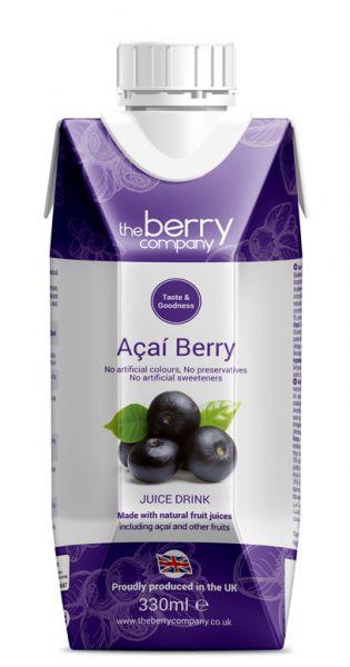 The Berry Company - Acai 0,33l Tetra-Pak