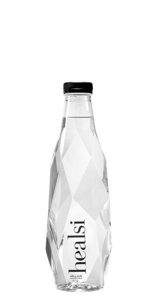 healsi Water - Diamant Flasche, crystal 0,5l PET