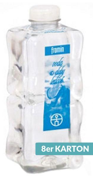 fromin Wasser - Wasser aus der Eiszeit, still - 1l (8er Karton)
