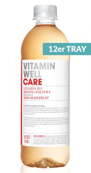Vitamin Well - Care, Grapefruit - 0,5l (12er Tray)