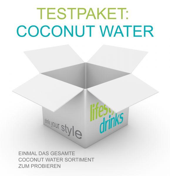 Testpaket - Kokosnusswasser
