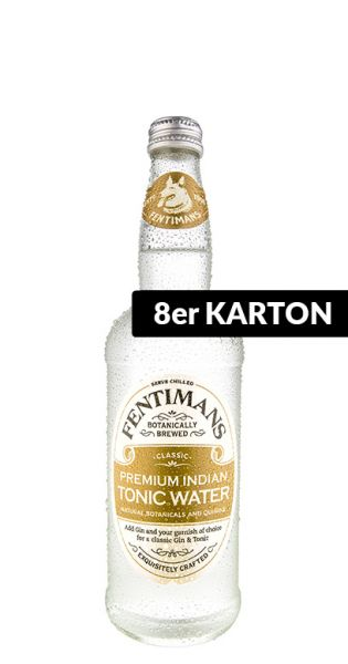 Fentimans - Premium Indian Tonic Wasser - 0,5l (8er Karton)