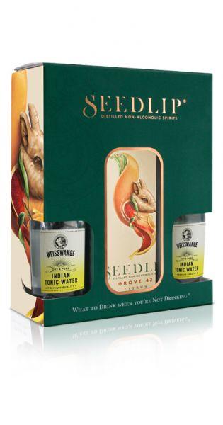 Seedlip Drink - Grove 42, Geschenkebox mit Tonic Wasser