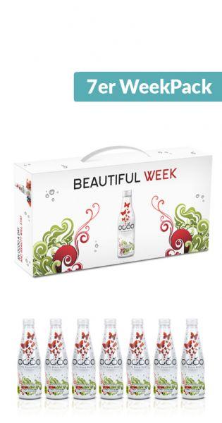 Ocoo - The Beauty Drink, 7er WeekPack (7 x 0,25l im WeekPack) - MHD Ware 06.01.2020