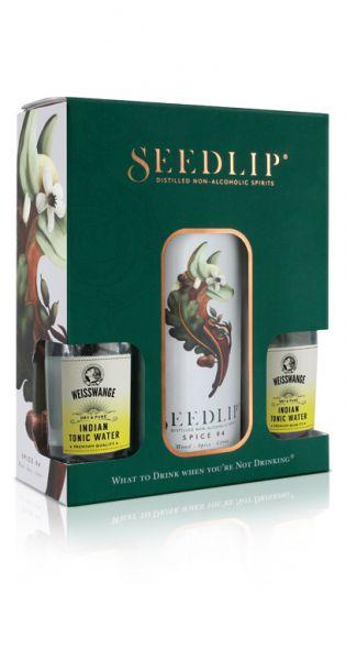 Seedlip Drink - Spice 94, Geschenkebox mit Tonic Wasser