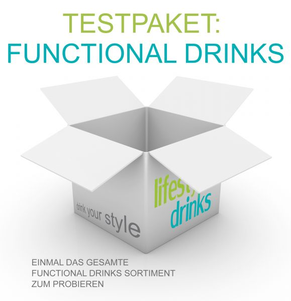 Testpaket - Funktional Drinks