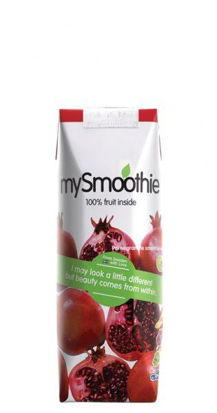 mySmoothie - ohne Kühlung haltbar, Granatapfel 0,25l Tetra-Pak