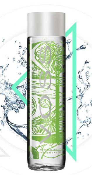 Voss Water - Premium Wasser - Lime and Mint, sprudelig 0,375l Glas