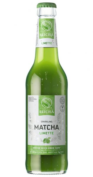 Seicha Matcha Drink - Limette 0,33l Glas