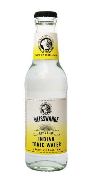Weisswange - Indisches Tonic Wasser, Trocken und Pur 0,2l Glas-Flasche