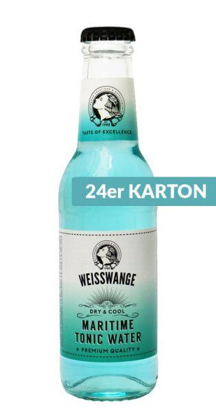 Weisswange - Maritim Tonic Wasser, Trocken und Cool 0,2l (24er Karton)