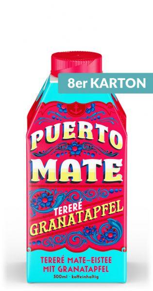Puerto Mate - Granatapfel - 0,5l (8er Karton)