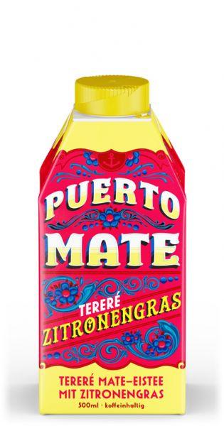 Puerto Mate - Zitronengras - 0,5l (Einzel Tetra-Pak)