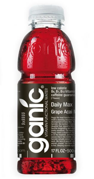 ganic Vitaminwater - Daily Max, Traube, Acai und Mg 0,5l PET