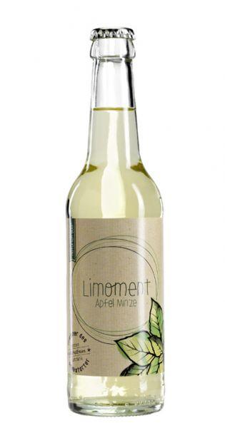 Limoment - Apfel und Minze 0,33l Glas