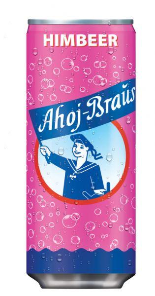 Ahoj Brause Drink - Himbeere - 0,33l (EinzelDrink)