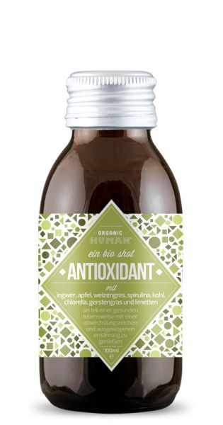 Organic Human - gesunder Energy Shot, Antioxidant - 0,1l (Einzelglas)