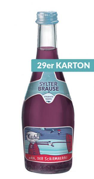 Sylter Brause - Oha, der Schirmherr, Johannisbeere, 0,33l - Glas (29er Karton)