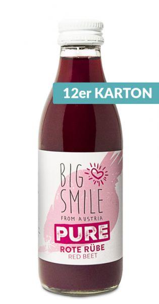 Big Smile - 100% Organic, rote Rübe 0,2l Glas (12er Karton)