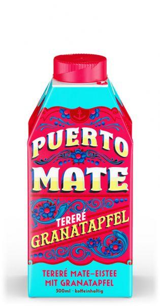Puerto Mate - Granatapfel 0,5l Tetra-Pak