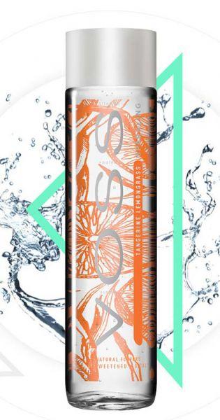 Voss Wasser - Mandarine und Zitronengras, sprudelig - 0,375l (Einzelglas)