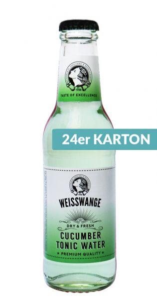 Weisswange - Salatgurke Tonic Water, Trocken und Frisch 0,2l (24er Karton)