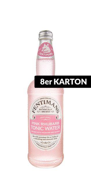Fentimans - Rosa Ruhbarb Tonic Wasser - 0,5l (8er Karton)