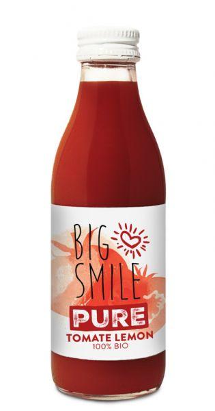 Big Smile - 100% Organic, Tomate Zitrone 0,2l Glas
