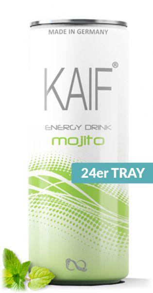 KAIF - Energy Mojito, 0,25l - Dose (24er Karton)
