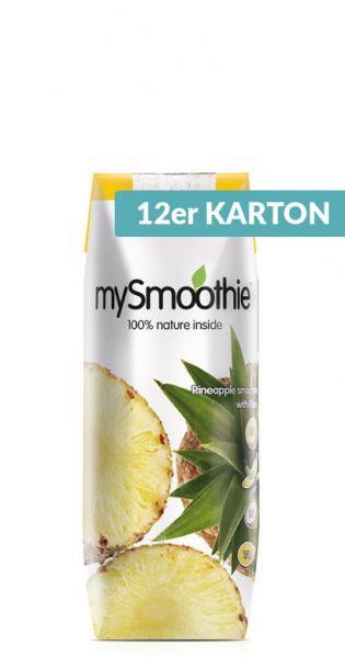mySmoothie - ohne Kühlung haltbar, Ananas 0,25l Tetra-Pak (12er Karton)
