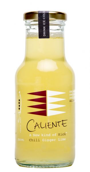 Caliente - Ingwer, Chili 0,25l Glas