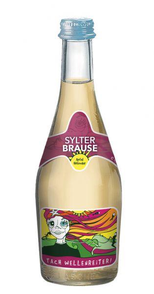 Sylter Brause - Tach Wellenreiter, Apfel und Holunder, 0,33l - Glas