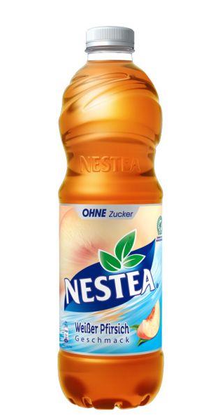 Nestea Eistee - Weißer Pfirsich Zuckerfrei - 1,5l (Einzel PET)