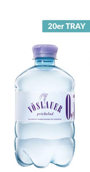Voeslauer Mineralwasser - prickelnd - 0,5l (2 x 10er Tray)