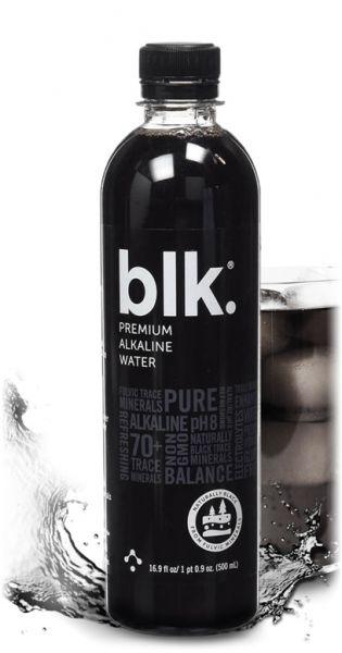 Blk. - Premium alkalisches Wasser, Still 0,5l PET