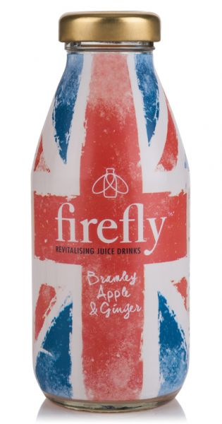 firefly natural drinks - Britannia: Bramley, Apple & Ginger 0,33l Glas