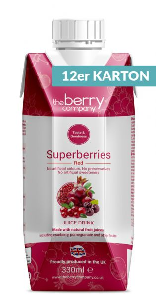 The Berry Company - Red, Superberries 0,33l Tetra-Pak (12er Karton)