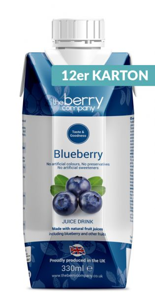 The Berry Company - Blaubeere 0,33l Tetra-Pak (12er Karton)