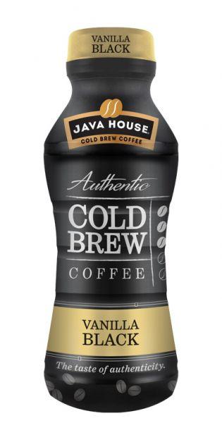 Java House - Cold Brew Coffee, Vanilla Black 0,3l PET