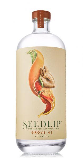 Seedlip Drink - erste Spirituose ohne Alkohol, Grove 42 - 0,7l (Einzelglas)