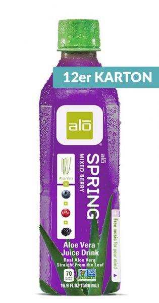 ALO Drink - SPRING, gemischte Beeren 0,5l (12er Karton)